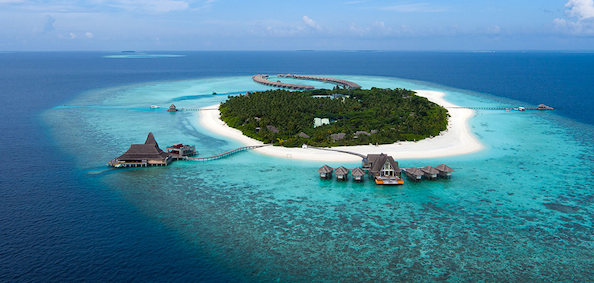 Indian Ocean, Maldives, Anantara Kihavah Villas