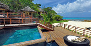 Indian Ocean, Seychelles, Constance Lemuria Resort