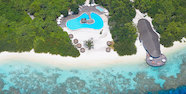 Indian Ocean, Maldives, Hideaway Beach Resort & Spa